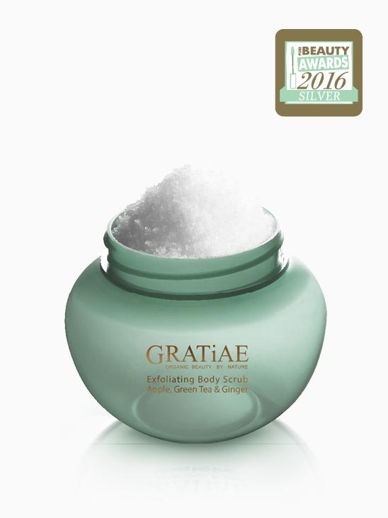 Exfoliating Salt Scrub (Apple, Green Tea and Ginger) F6a